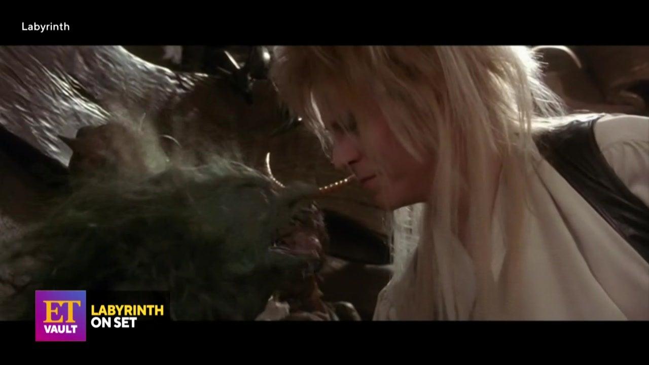 Jennifer Connelly Talks 'Labyrinth' in On-Set Interview (Flashback)