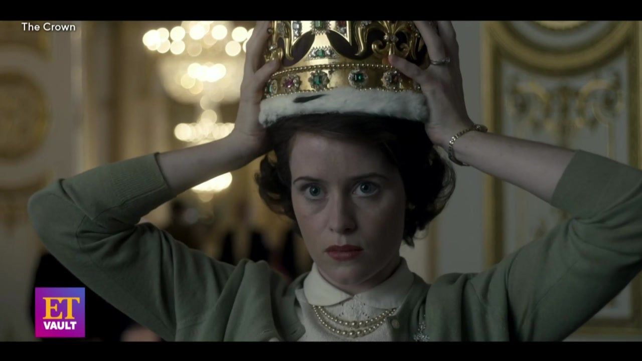 'The Crown's Claire Foy and Olivia Colman Talk Queen Elizabeth II