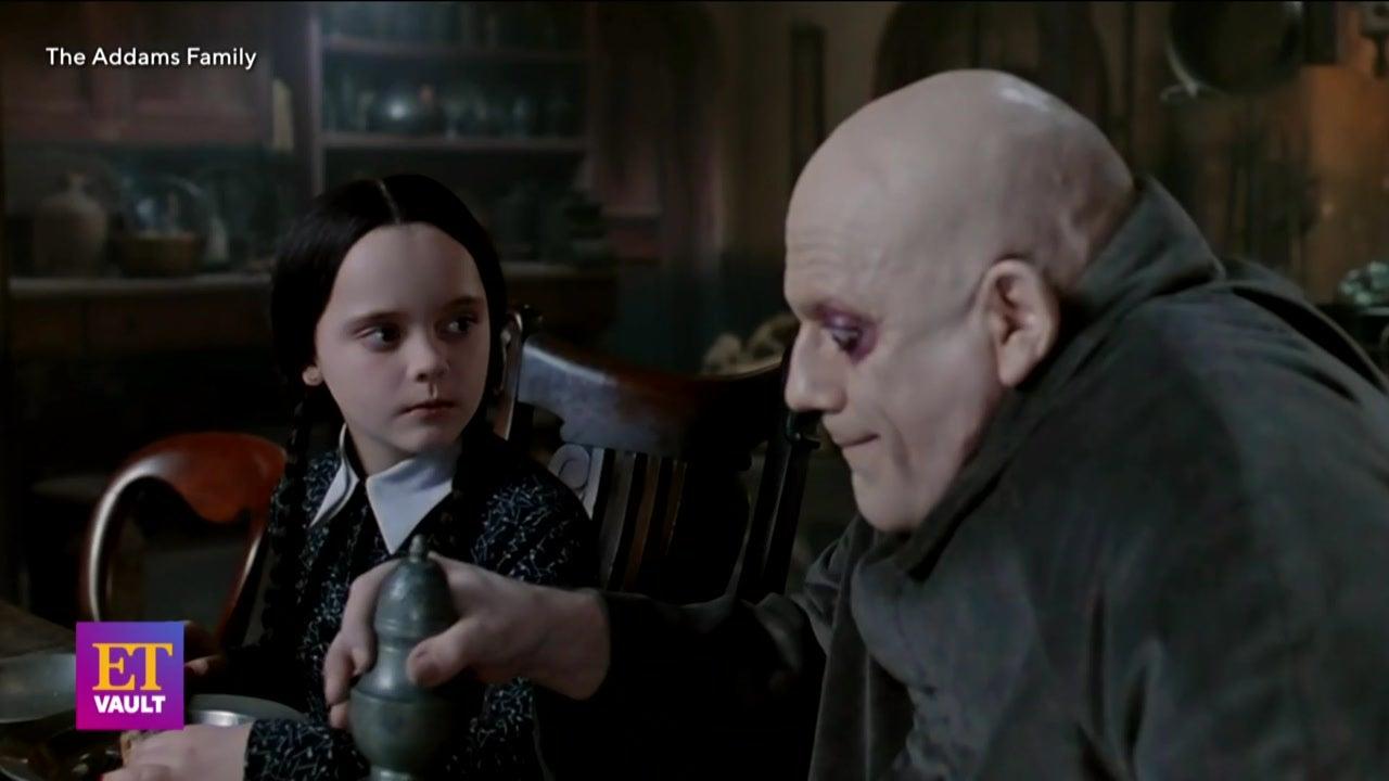 'The Addams Family': RARE On Set Interviews (Flashback)