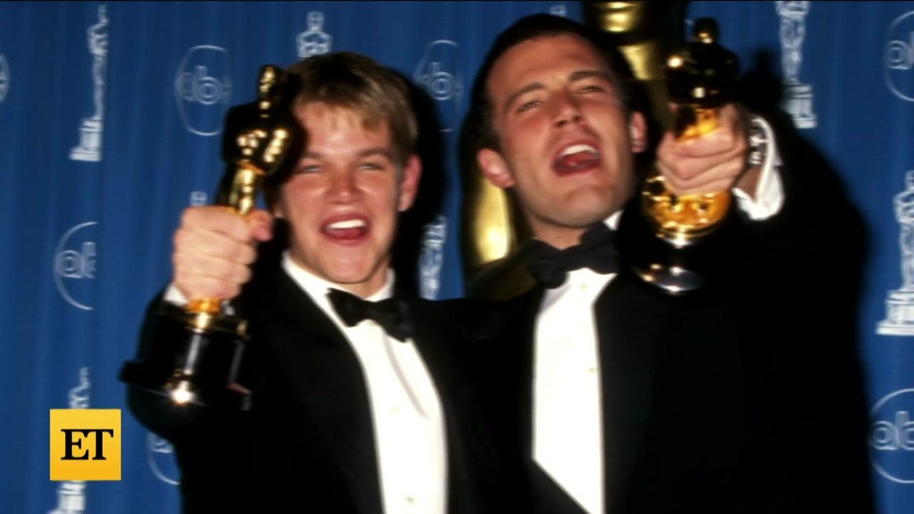 Matt Damon and Ben Affleck REACT to Teenage Throwbacks of Themselves!
