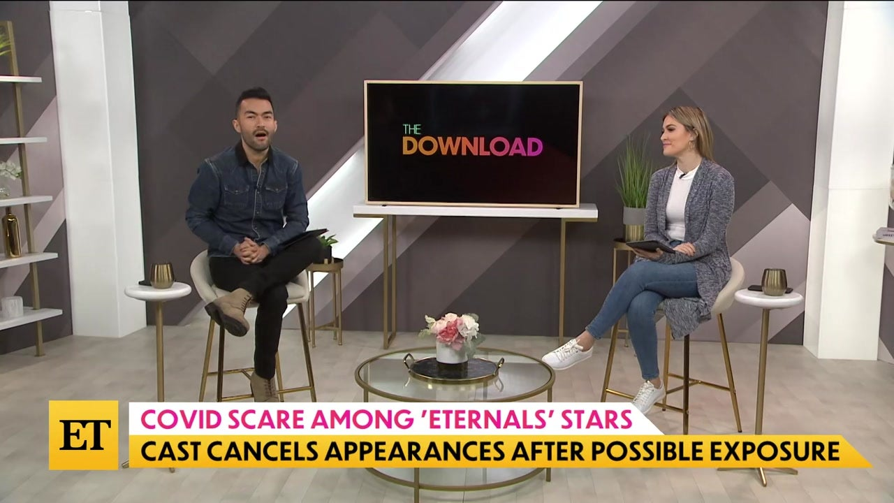 The Download: 'Eternals' Cast Cancels Appearances After COVID Scare