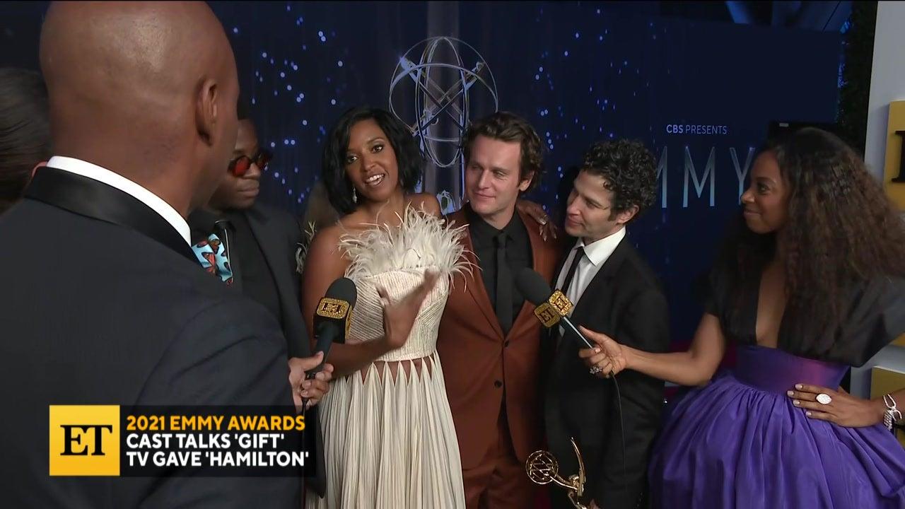 2021 EMMYS: 'Hamilton' Cast Talks Movie Possibility