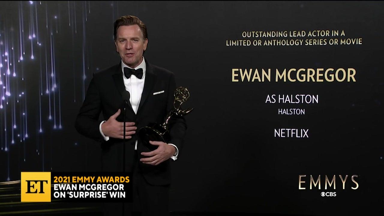 2021 EMMYS: Ewan McGregor Talks Fatherhood, Win