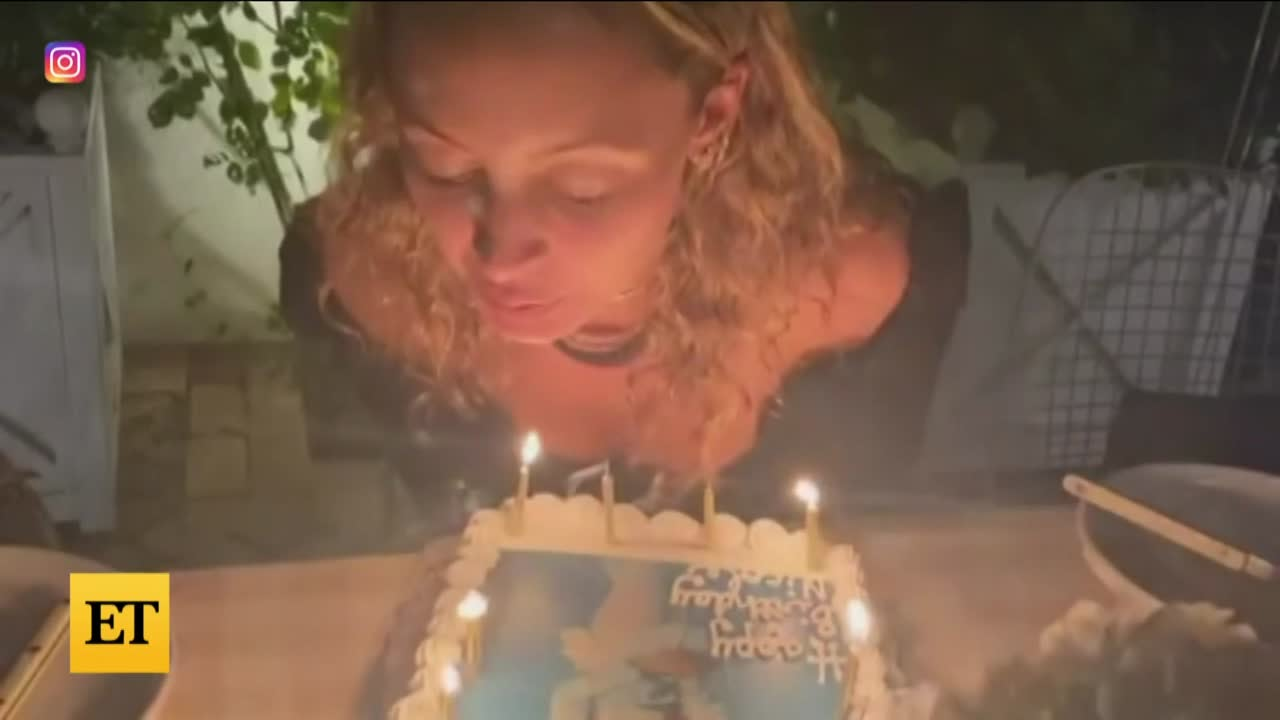 Watch Nicole Richie's Hair Catch Fire