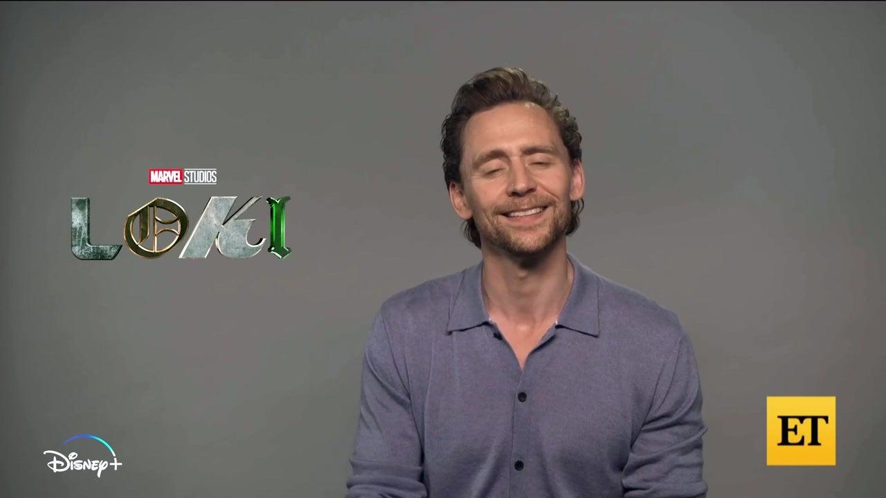 Tom Hiddleston Talks Acting With Owen Wilson in 'Loki' (Exclusive)