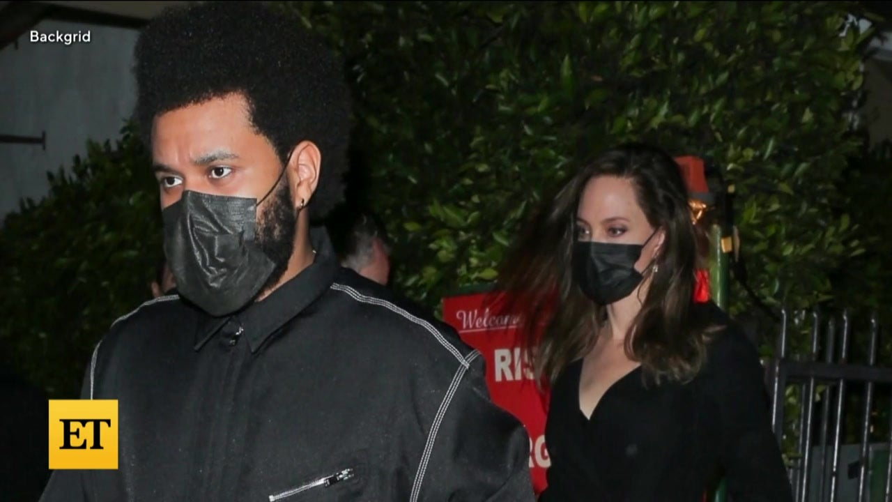 Inside Angelina Jolie and The Weeknd's Weekend Dinner Date