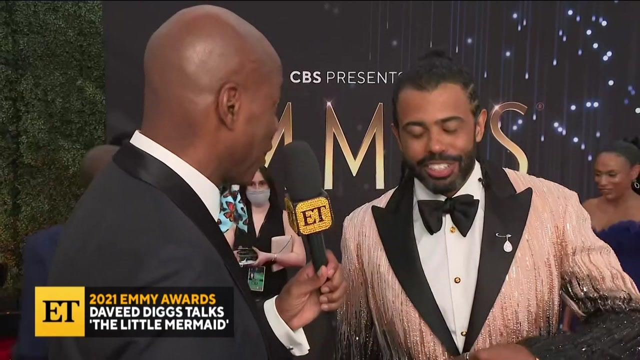 2021 EMMYS: Daveed Diggs Talks 'The Little Mermaid'