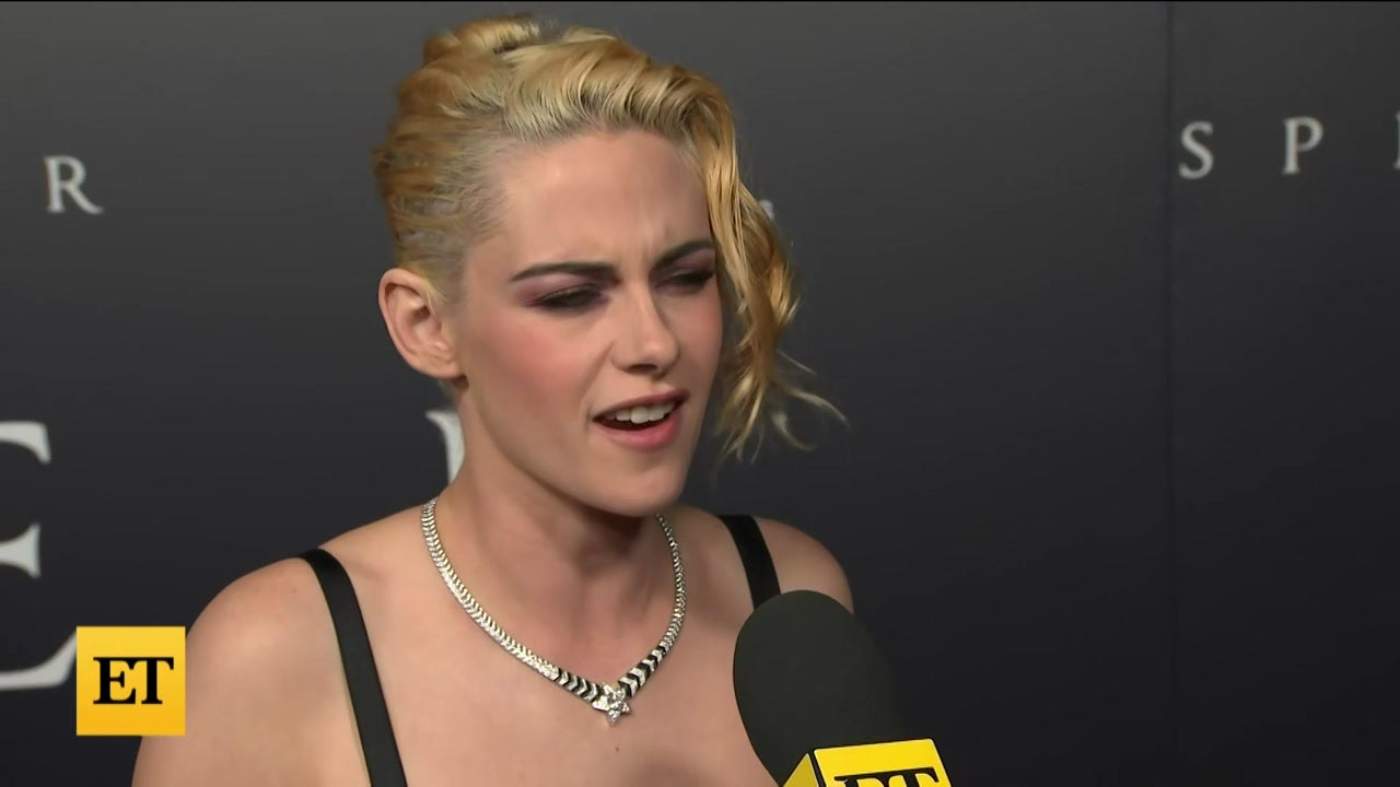 Kristen Stewart Calls Wearing Princess Di's Wedding Dress 'Spooky'