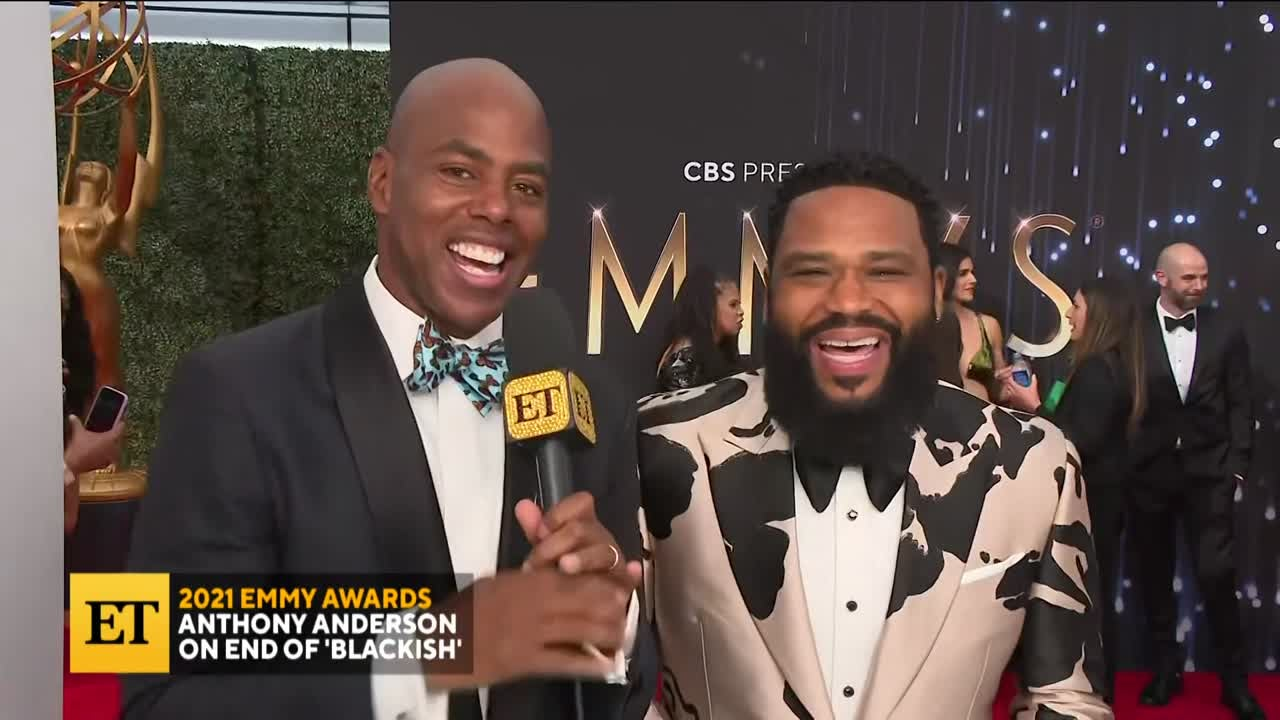 2021 EMMYS: Anthony Anderson on End of 'Blackish'
