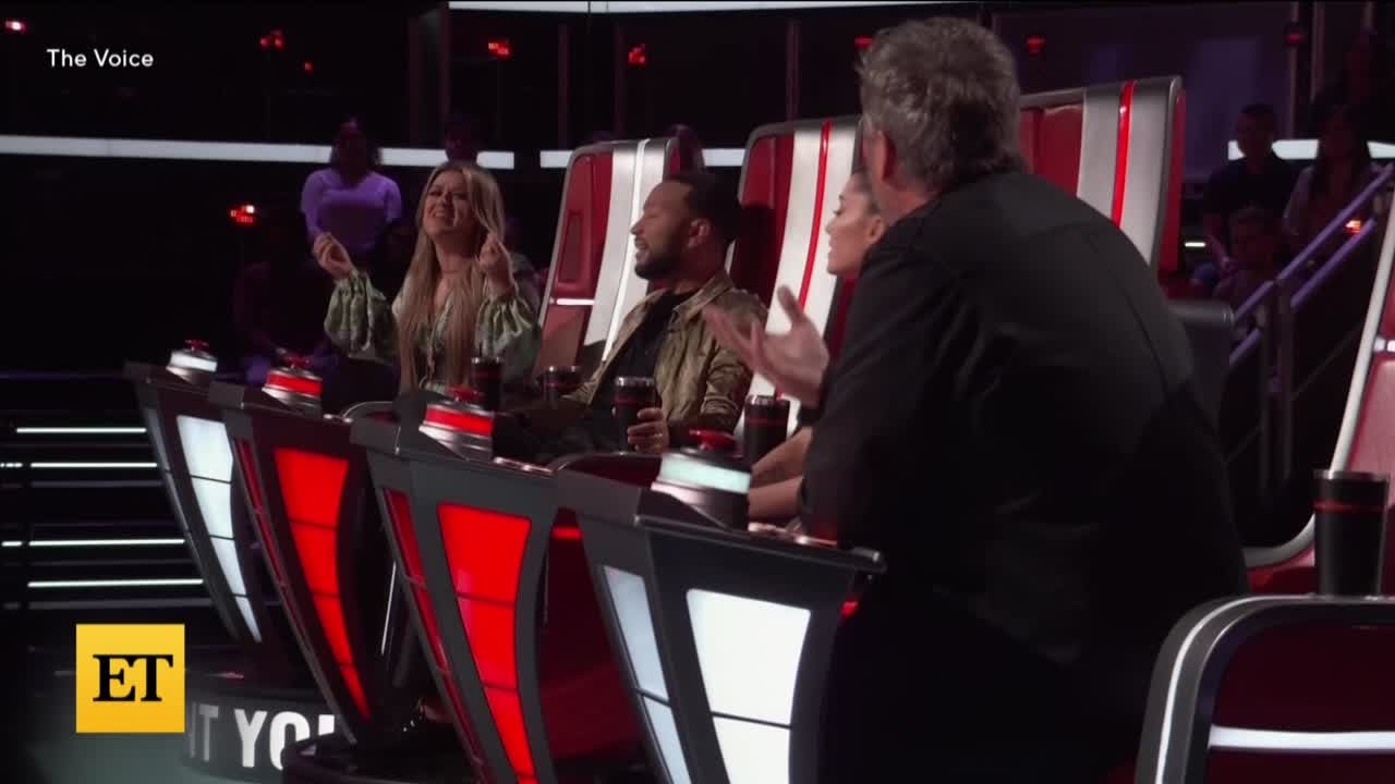 The Voice: Ariana Grande and John Legend Walk Off Set After THIS