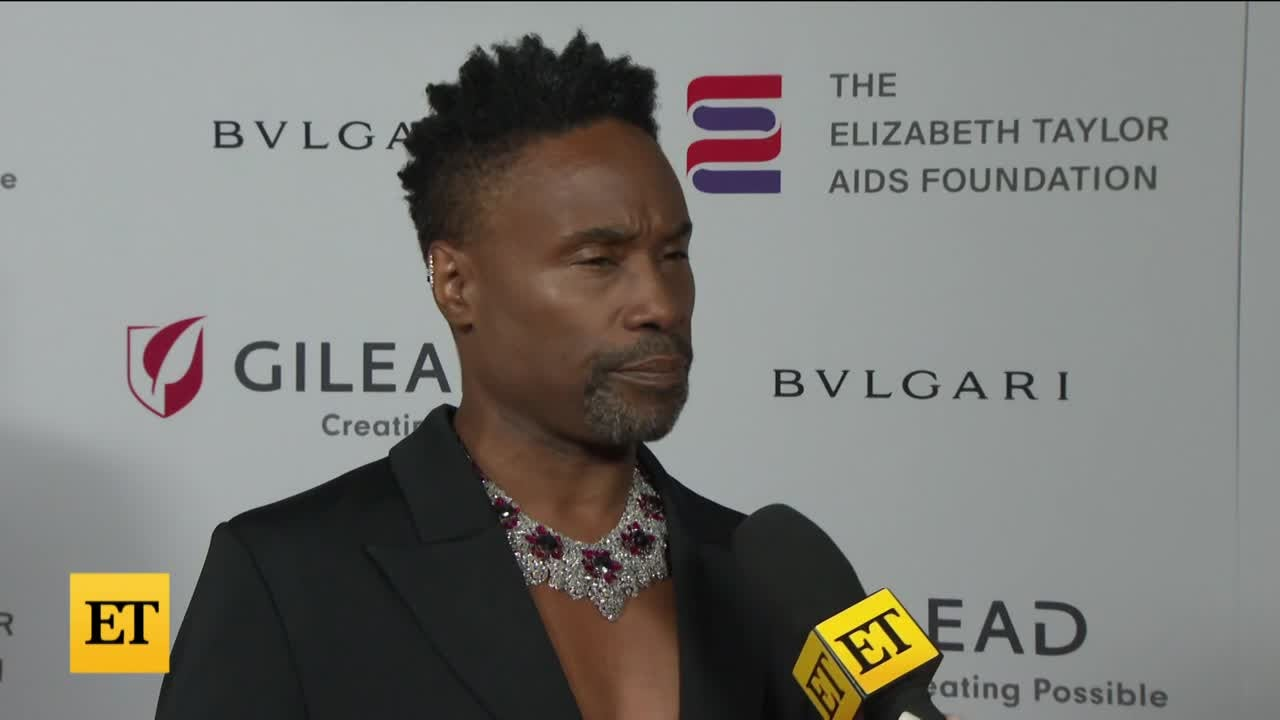 Billy Porter 'Humbled' By Elizabeth Taylor AIDS Foundation Honor