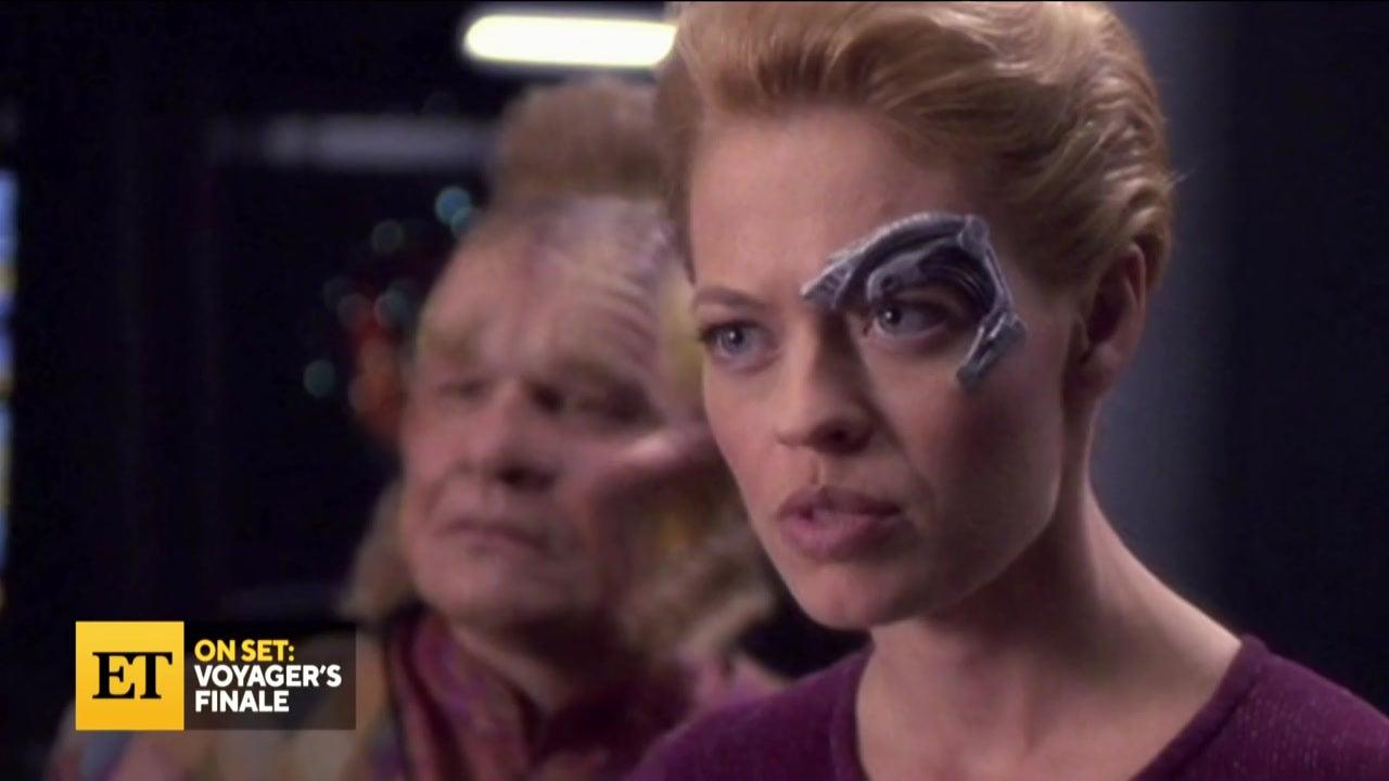 'Star Trek: Voyager' Cast Talks On-Set Laughs and Seven of Nine's Uncomfortable Costume (Flashback)