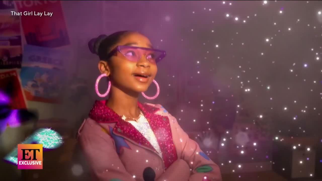 That Girl Lay Lay COMES TO LIFE and RAPS on Nickelodeon Sitcom