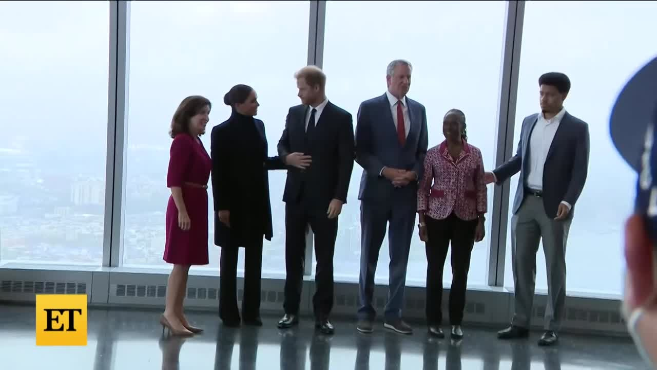 Inside Prince Harry and Meghan Markle's NYC Visit