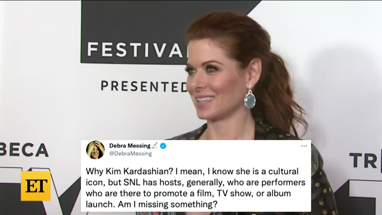 Kim Kardashian SHADED by Debra Messing Over 'SNL' Hosting Gig