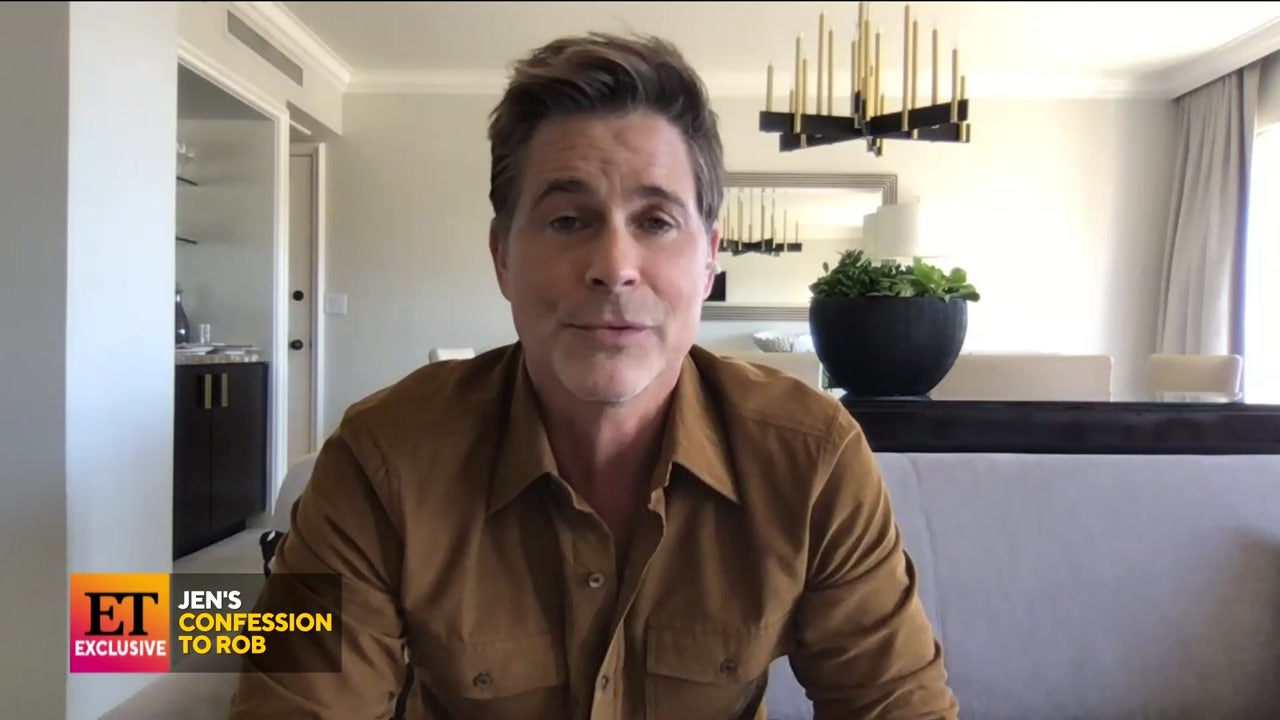 Why Rob Lowe Thinks Jennifer Aniston Opened Up to Him (Exclusive)