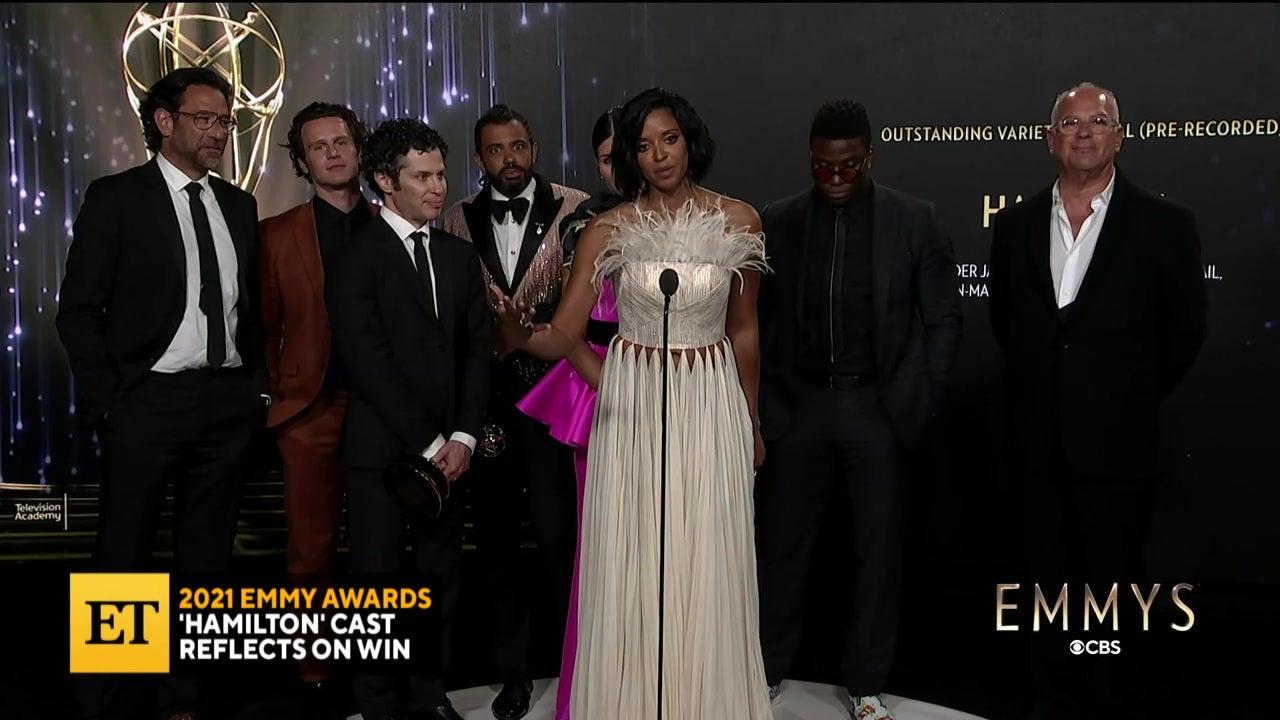 2021 EMMYS: 'Hamilton' Cast Reflects On Win