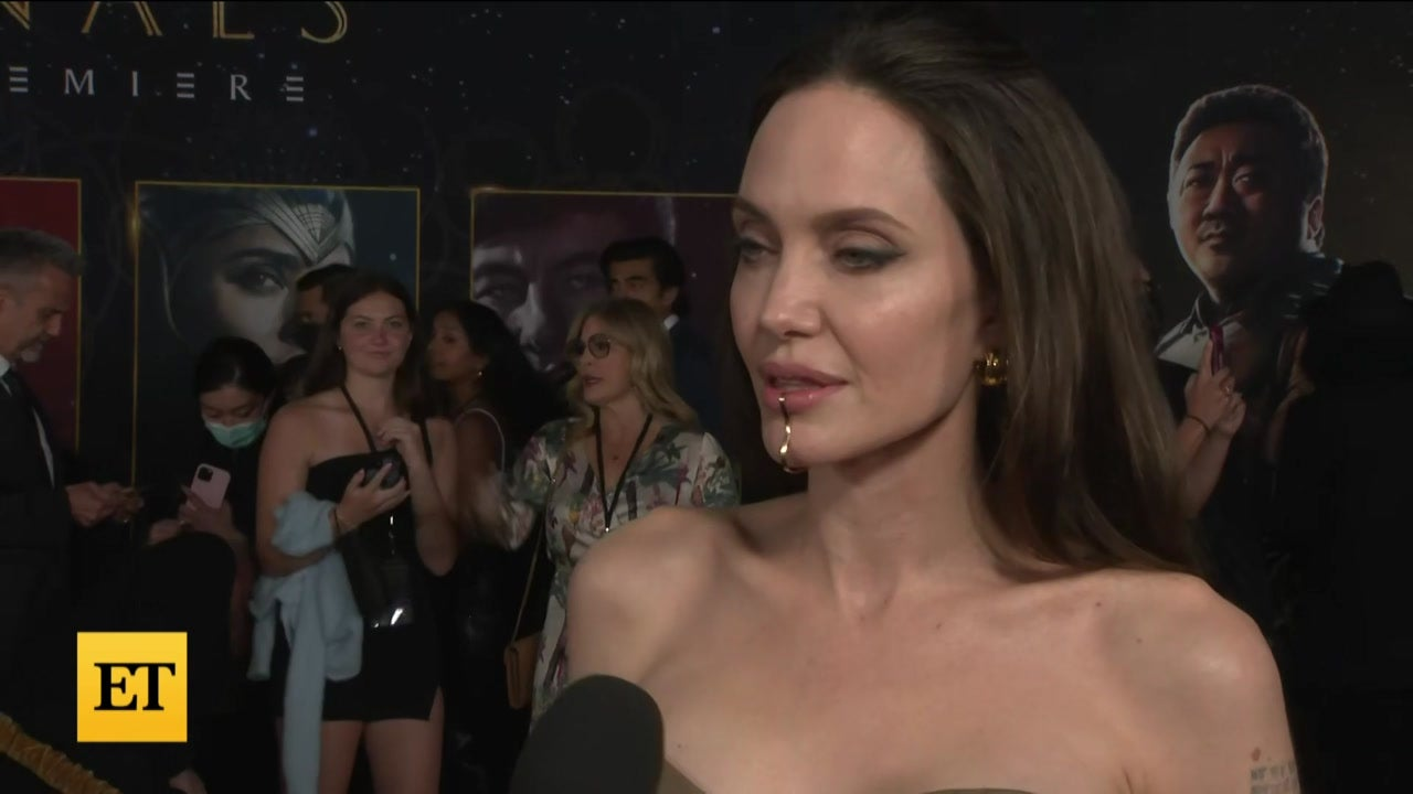 Angelina Jolie Admits Her 'Eternals' Look Was a Bit Much for Her Kids to Take