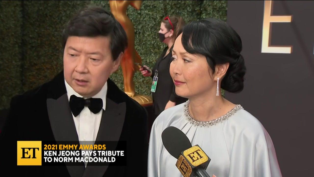 2021 EMMYS: Ken Jeong Remembers Norm Macdonald