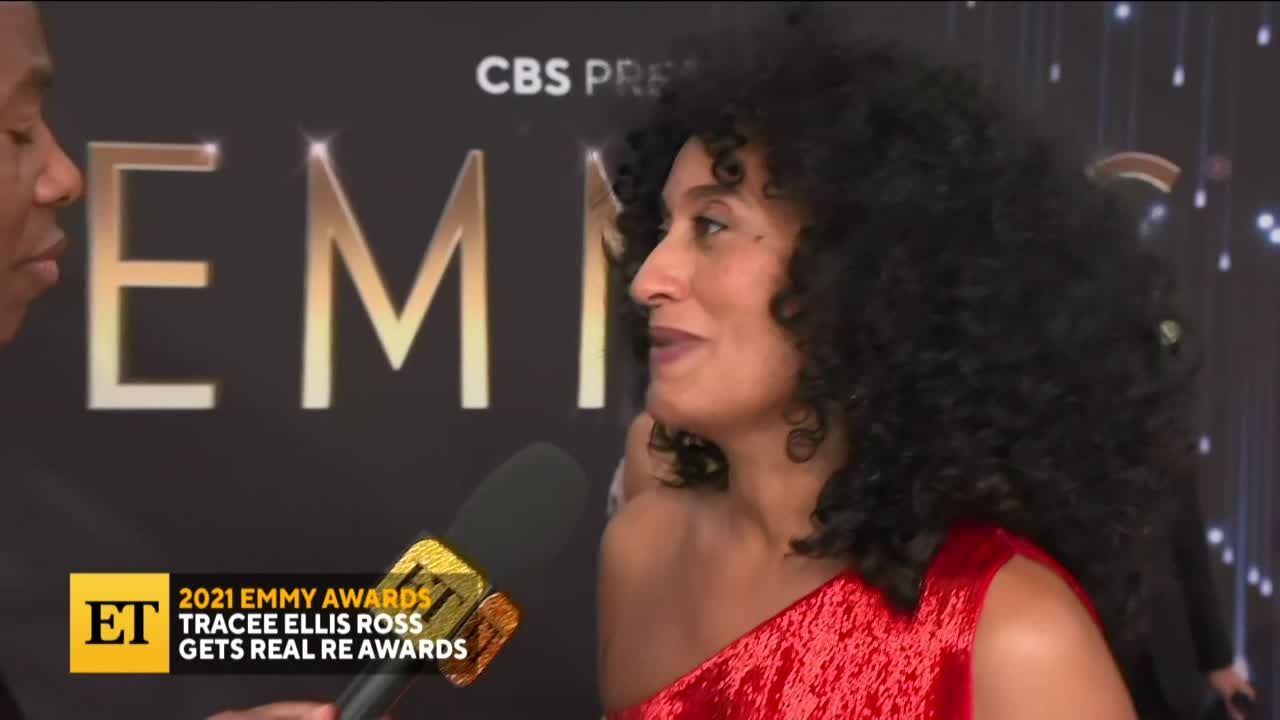 2021 EMMYS: Tracee Ellis Ross Gets Real Re Awards