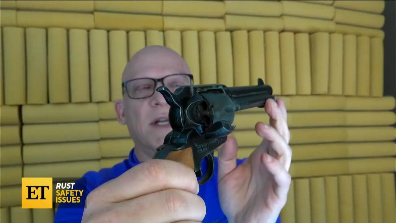Firearms Expert Says a Real Gun Killed Halyna Hutchins, Not a Prop Gun