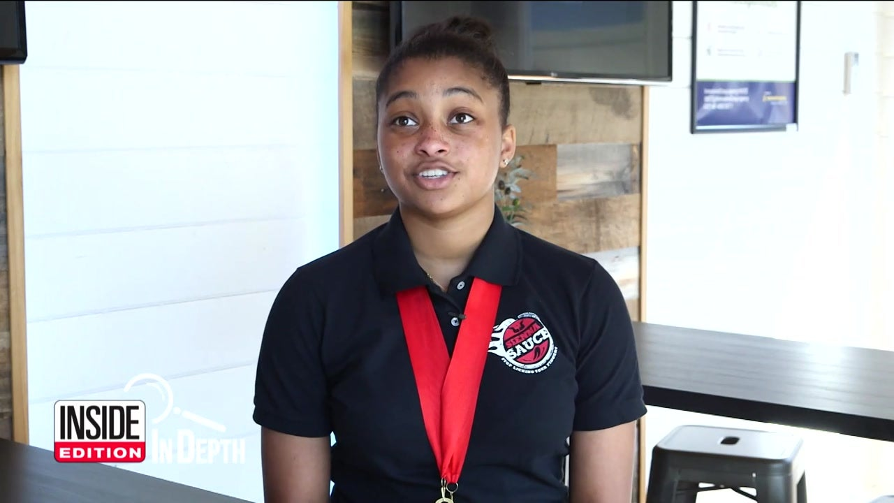 Inside Edition: In Depth - 16-Year-Old Showcases Her Sauce at World Food Championships