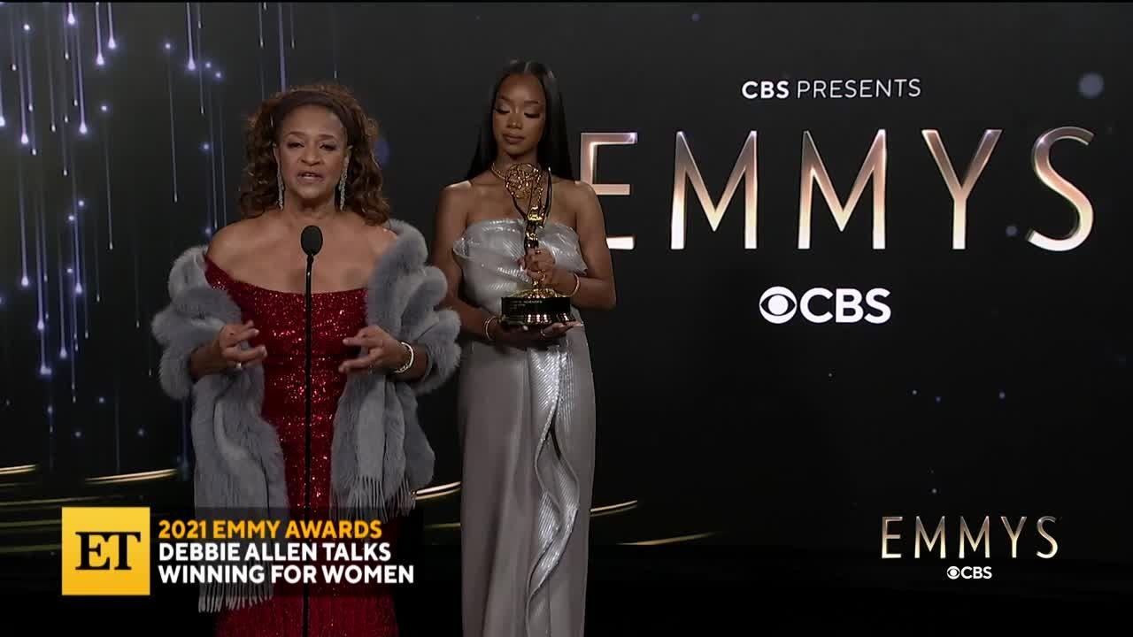 2021 EMMYS: Debbie Allen Talks Winning For Women