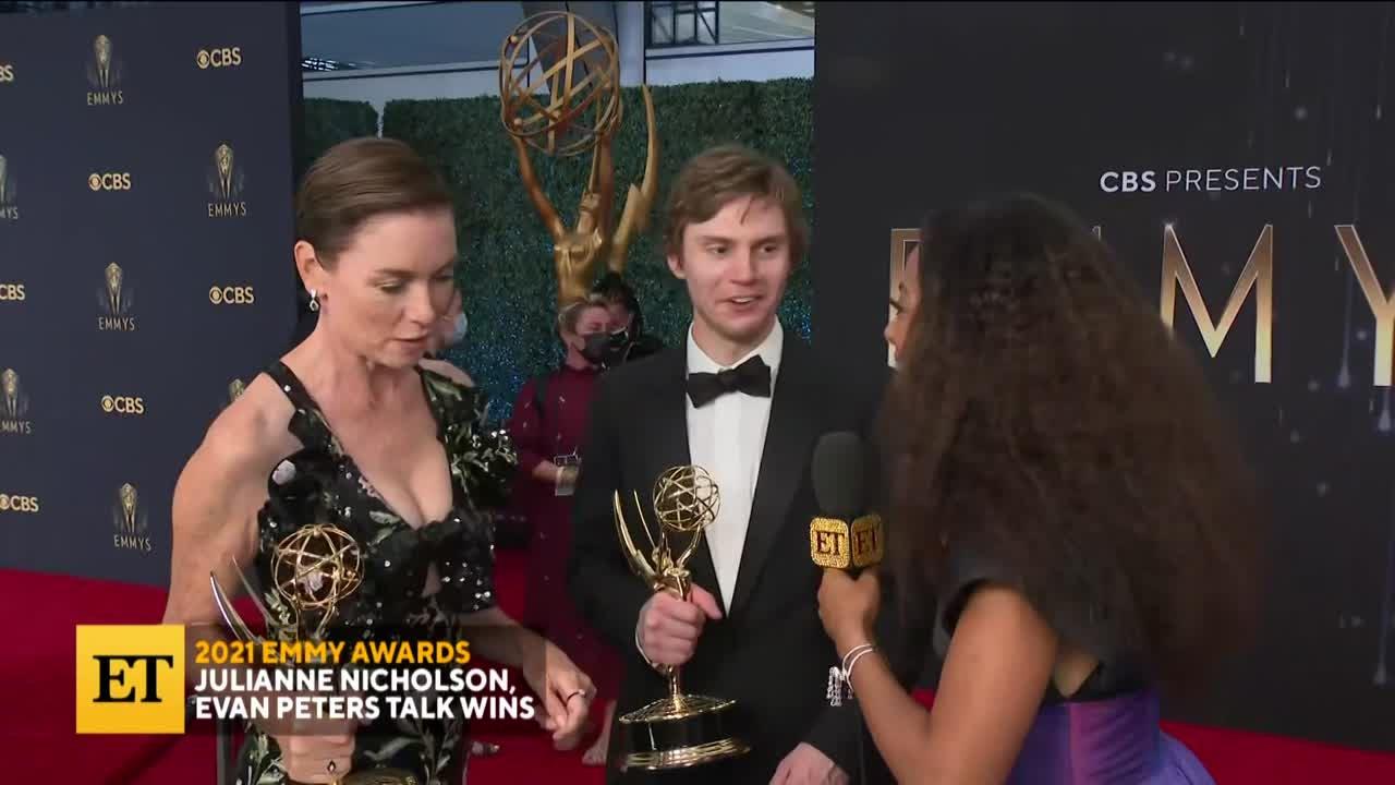 2021 EMMYS: Julianne Nicholson, Evan Peters On Wins