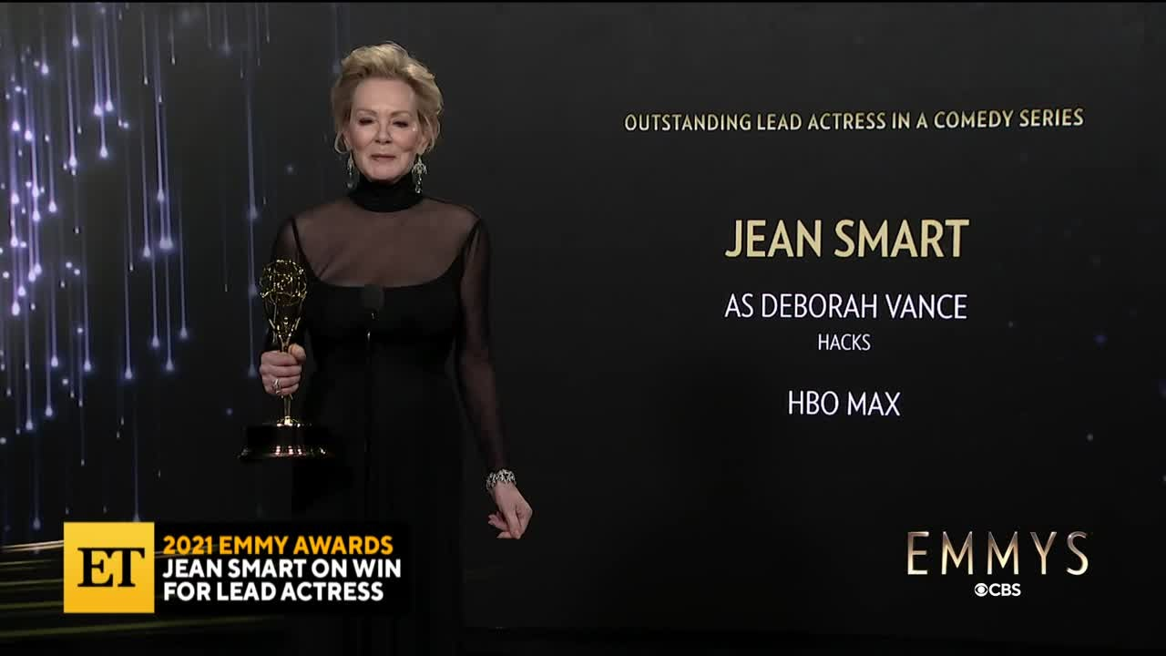 2021 EMMYS: Jean Smart Emotionally Reflects On Win