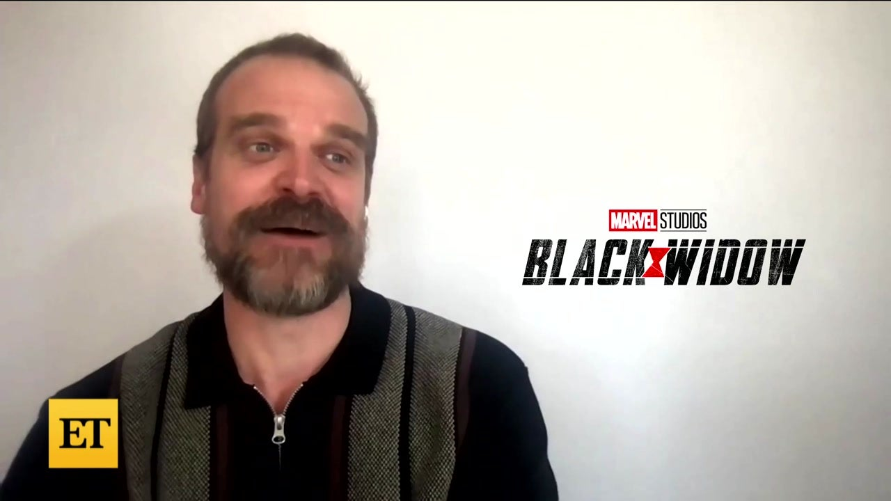 David Harbour on Filming 'Black Widow' Stunts (Exclusive)
