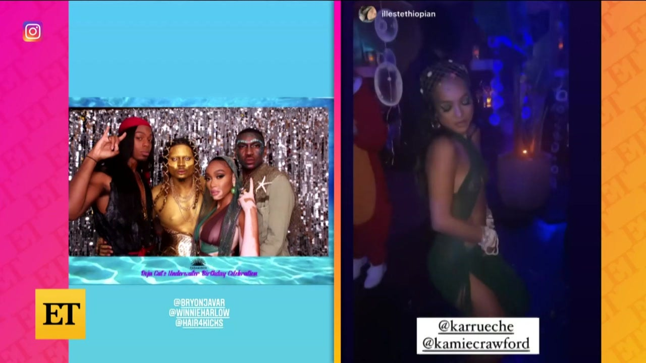 Inside Doja Cat's Birthday Bash With Normani, Billie Eilish and More!