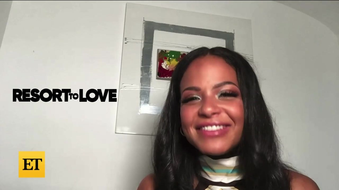 Christina Milian on Hiding Her Pregnancy on the Set of 'Resort to Love'
