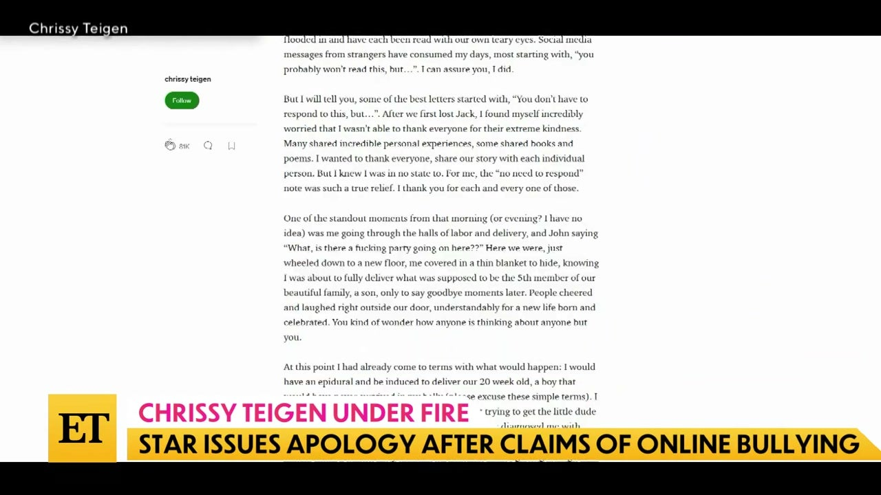 The Download: Chrissy Teigan Under Fire