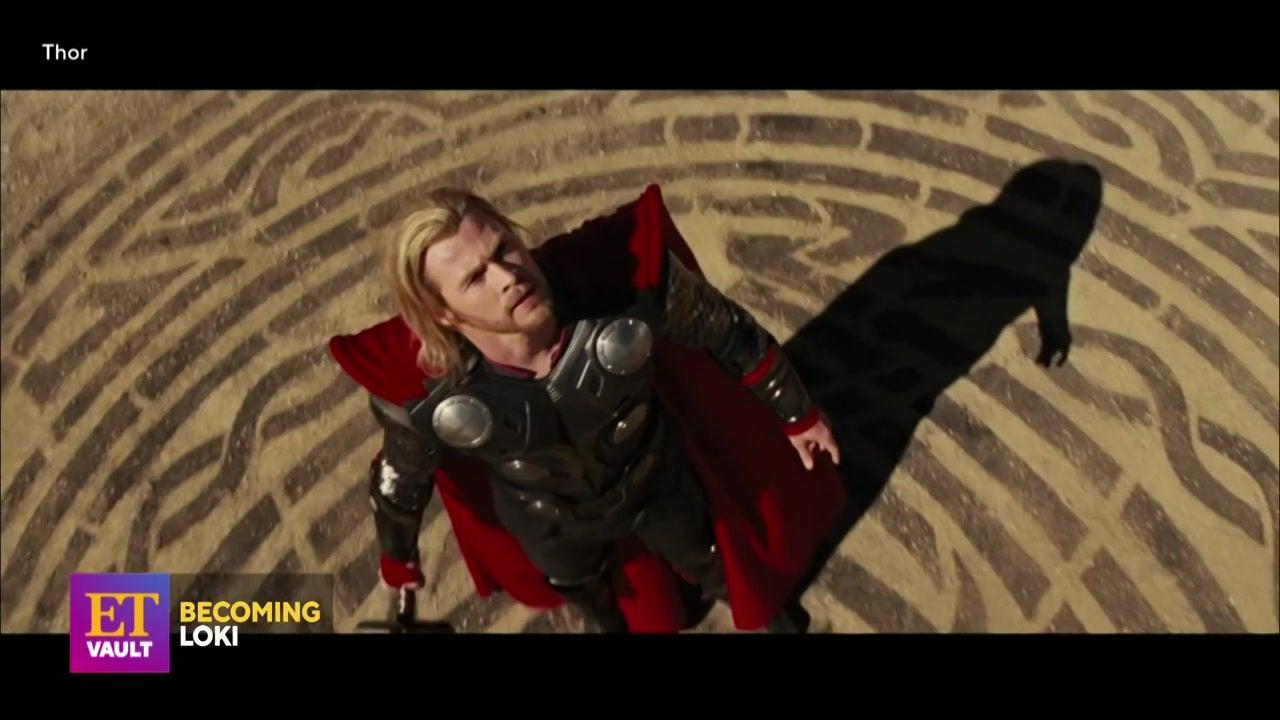 Tom Hiddleston on Creating Loki's Physique for 'Thor' (Flashback)