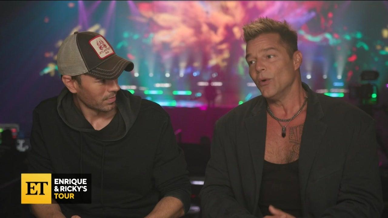 Enrique Iglesias and Ricky Martin Kick Off Tour in Vegas