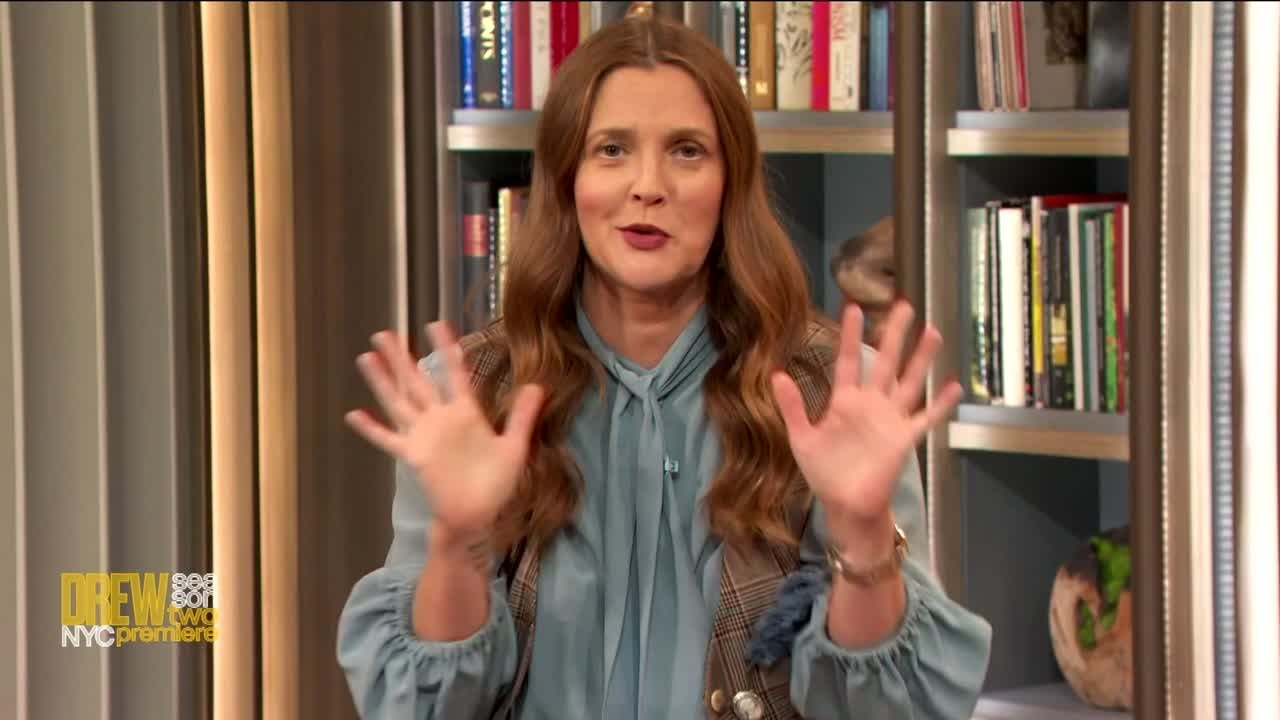 The Drew Barrymore Show: Drew Premieres Season 2 in NY with Louis Angelino