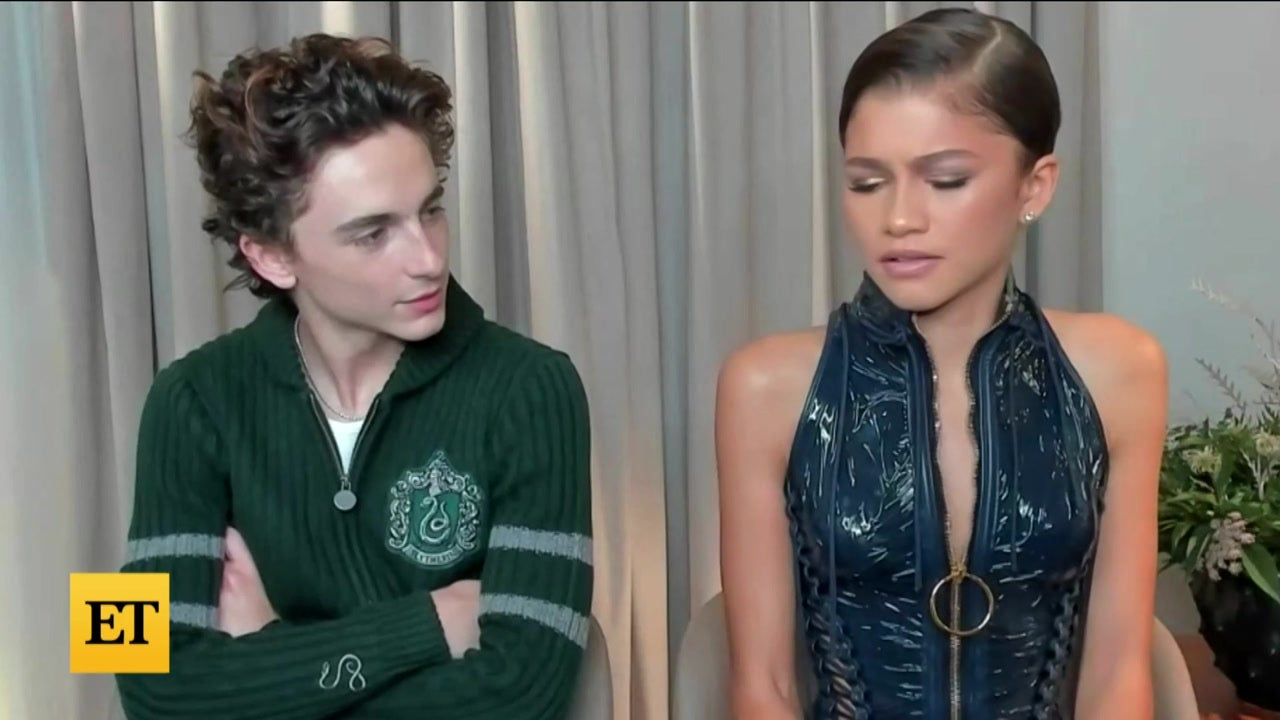 Zendaya and Timothée Chalamet GUSH Over Each Other's FASHION