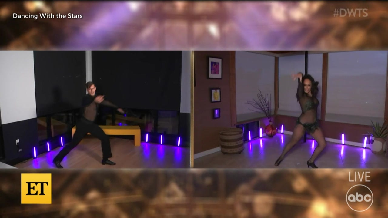 'DWTS': Cody and Cheryl REACT to Judges' Scores After Virtual Dance