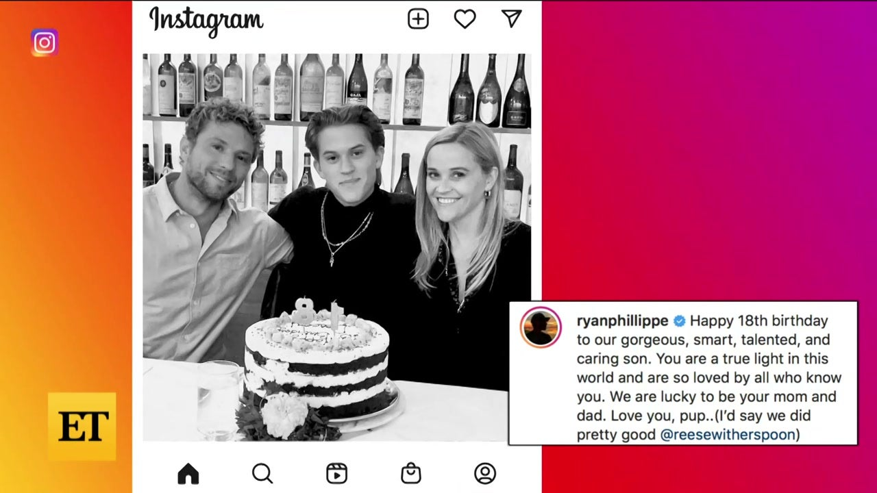 Reese Witherspoon and Ryan Phillippe REUNITE for Son Deacon's Birthday