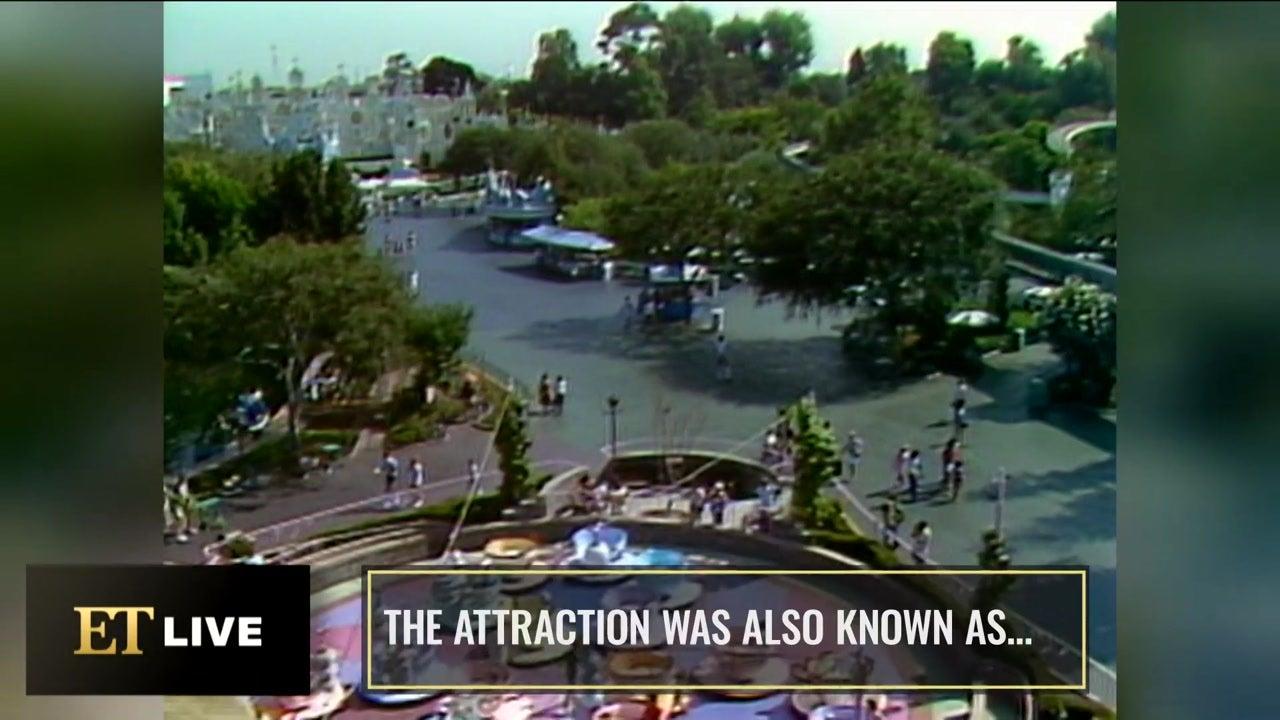 The Disneyland Ride With Celebrity Revelations (Flashback)