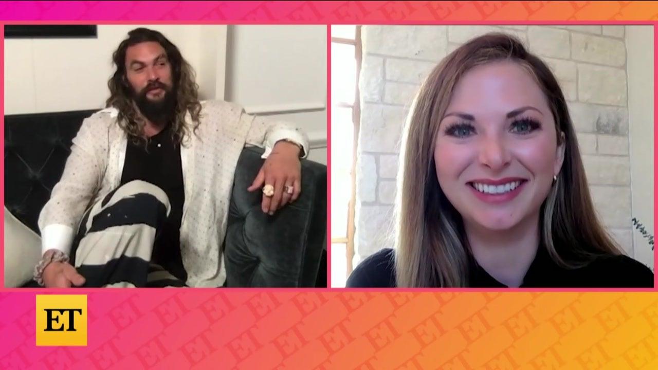 Jason Momoa on FRIENDSHIP With Dwayne Johnson (Exclusive)