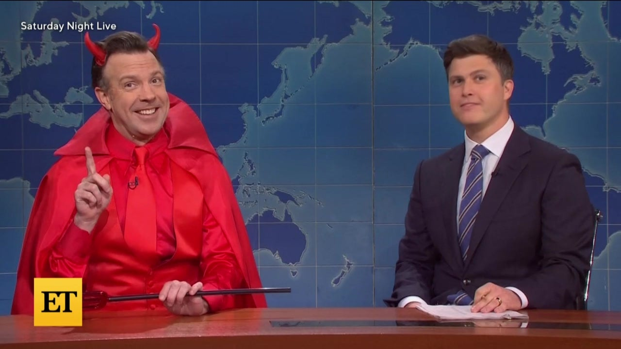'SNL': Jason Sudeikis' 'Devil' Jokes About Colin Jost Marrying ScarJo