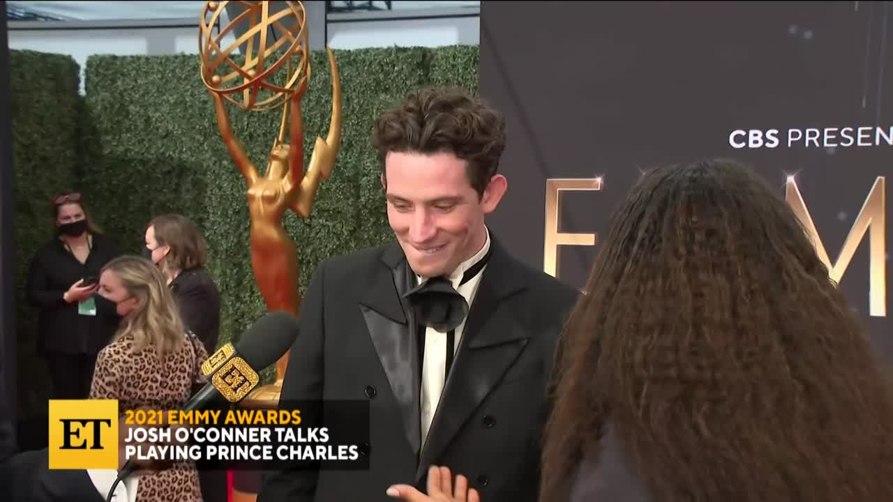 2021 EMMYS: Josh O'Conner's Question for Charles