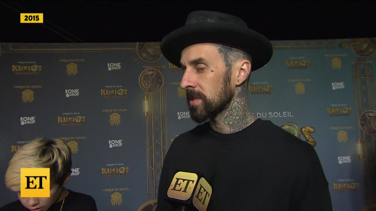 Travis Barker Gets Tattoo of Kourtney's Lips to COVER Ex's Name