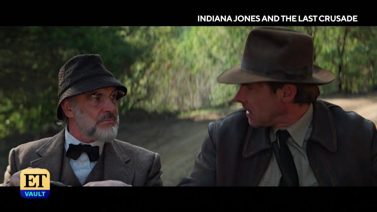 Harrison Ford Talks 'Indiana Jones and the Last Crusade' (Flashback)