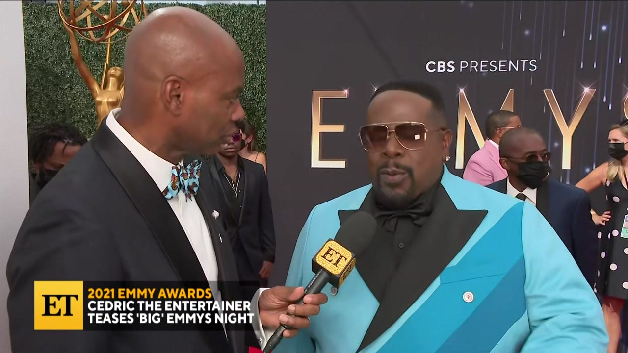 2021 EMMYS: Cedric The Entertainer On 'Big' Night