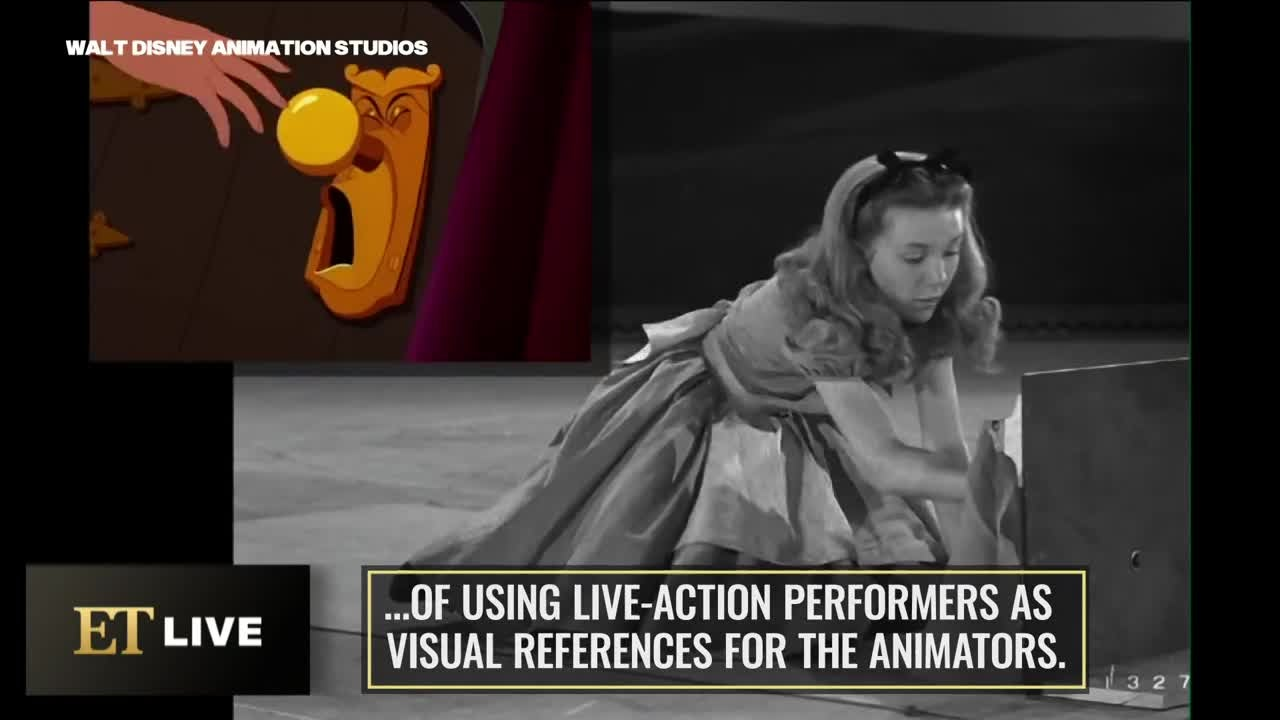 See 'The Little Mermaid' Animation Model at work! (Flashback)
