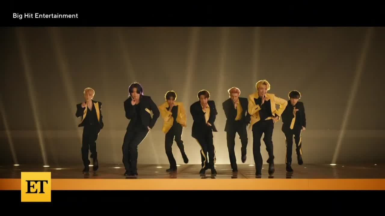 2021 VMAs: BTS Perform 'Butter' A Capella
