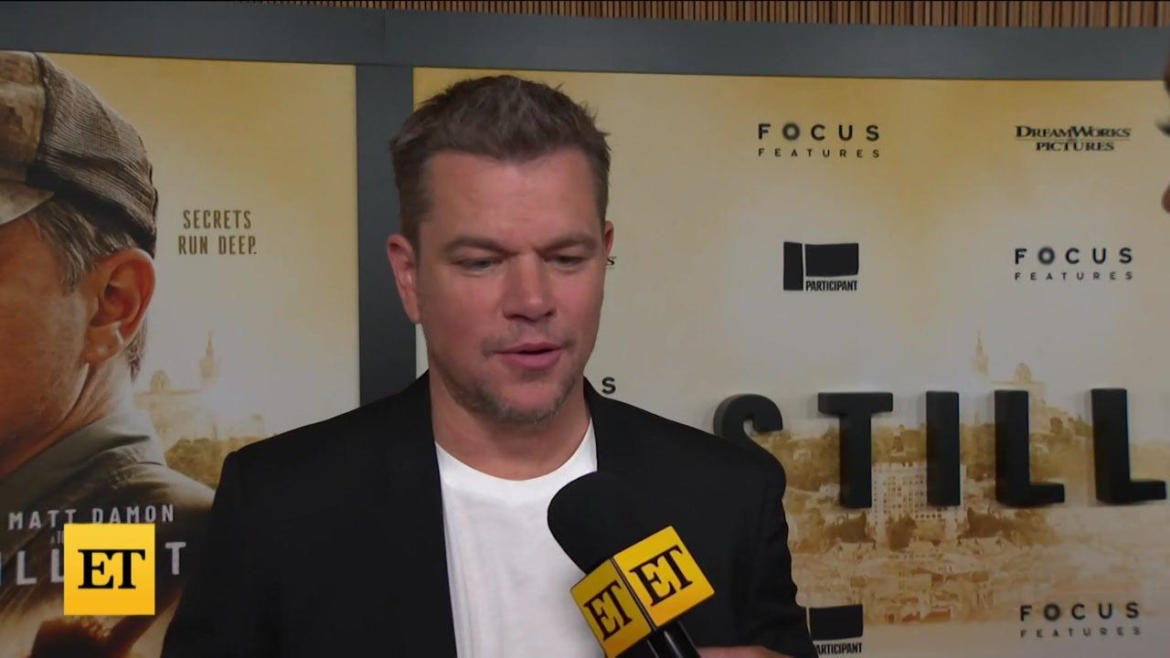 Matt Damon on Why He Got Emotional Over 'Stillwater' Standing Ovation at Cannes Film Festival