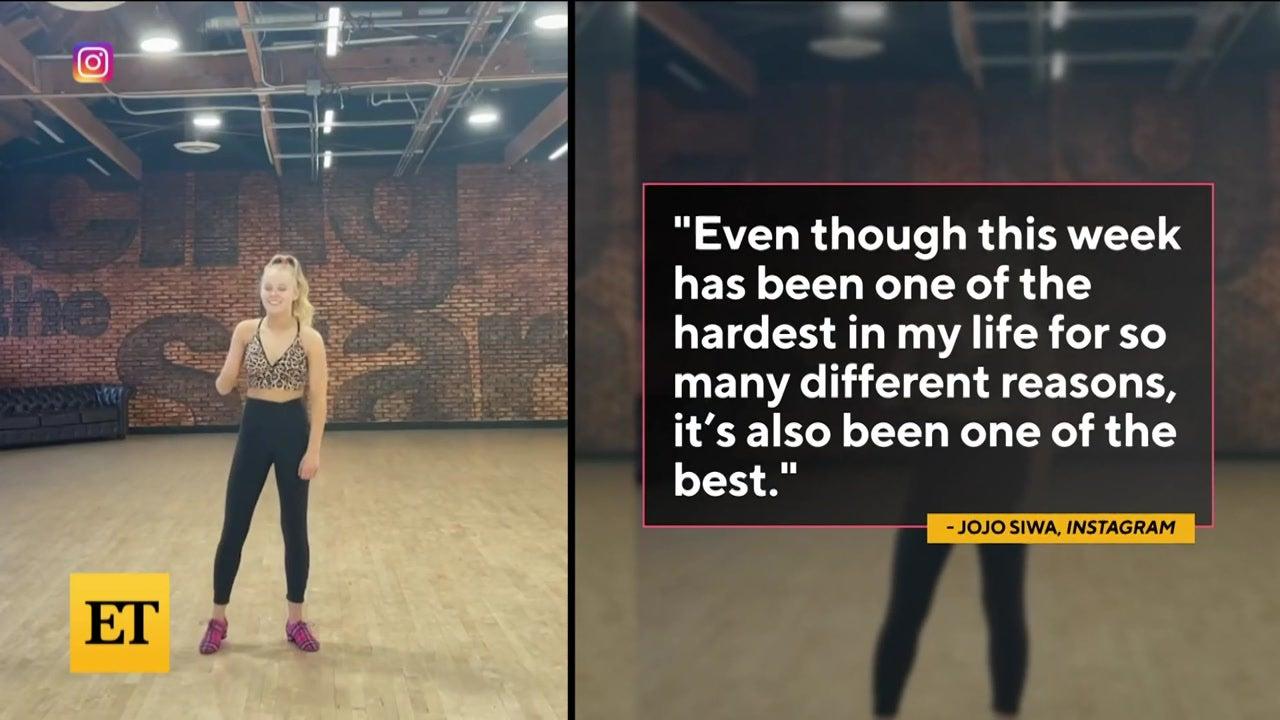 JoJo Siwa and Kylie Prew Split
